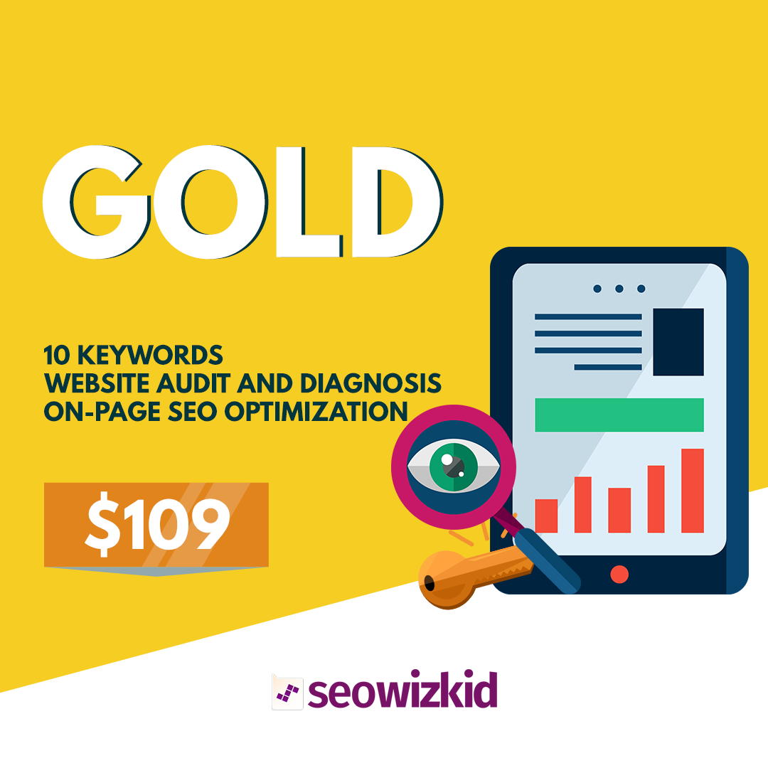 seo wizkid gold package, seo company