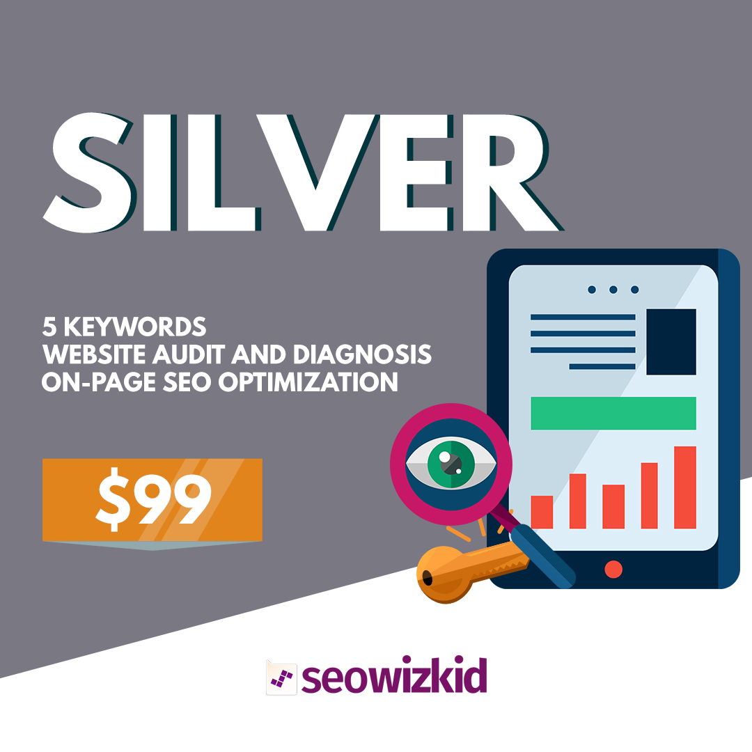 seo wizkid silver package, seo consultant